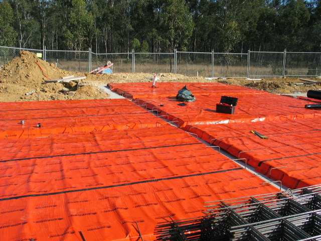 Prior To Steel Reinforced Concrete Or Sub Floor Stumps